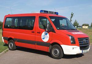 Mannschaftstransportwagen, MTW, VW Crafter