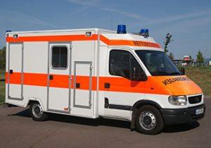 Rettungswagen, RTW, Opel Movano - WAS